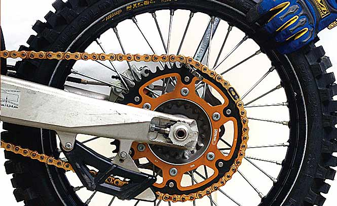 Read a Worn Sprocket
