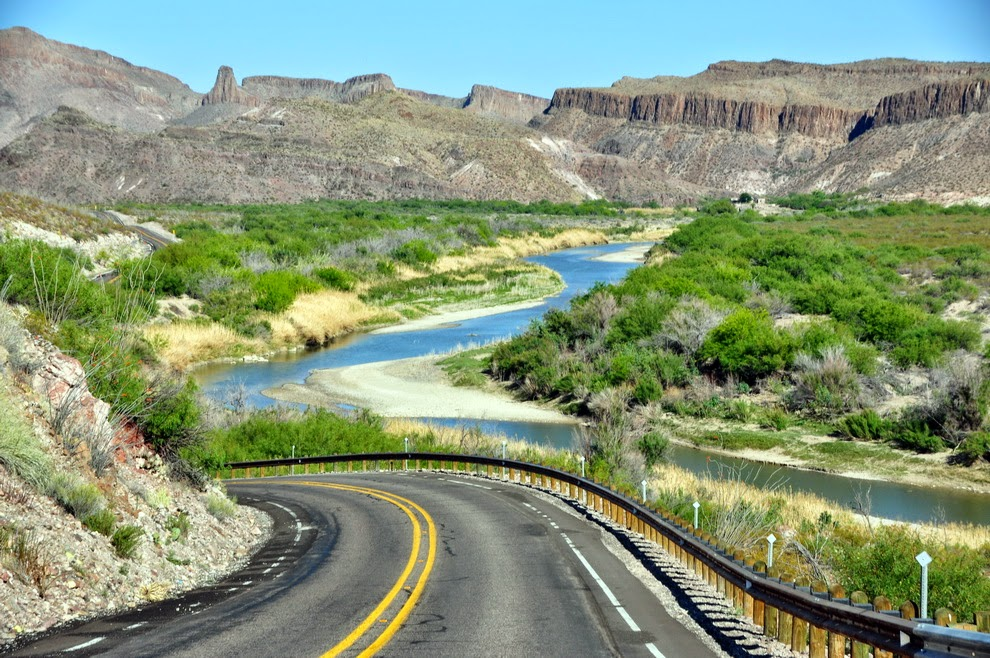Rio Grande River Road – Texas