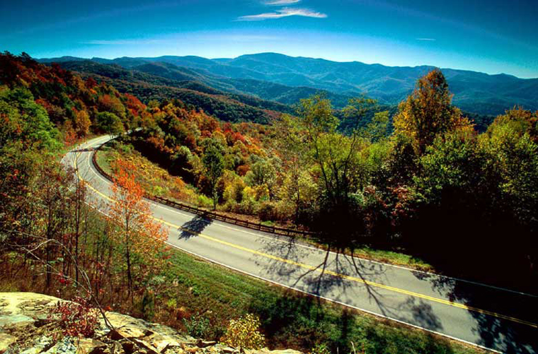 Ride the Cherohala Skyway