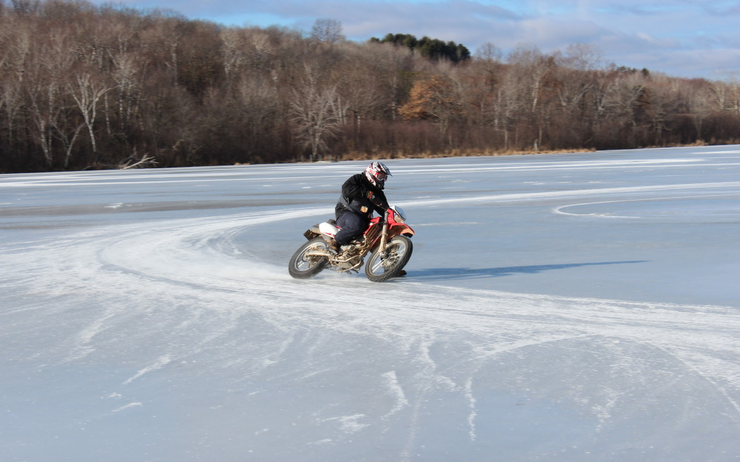 Turn Your Dirt Bike Into Ice