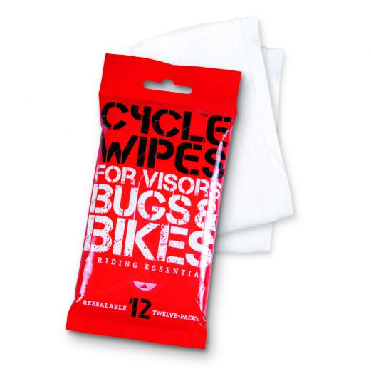Cycle Wipes – for what's bugging you