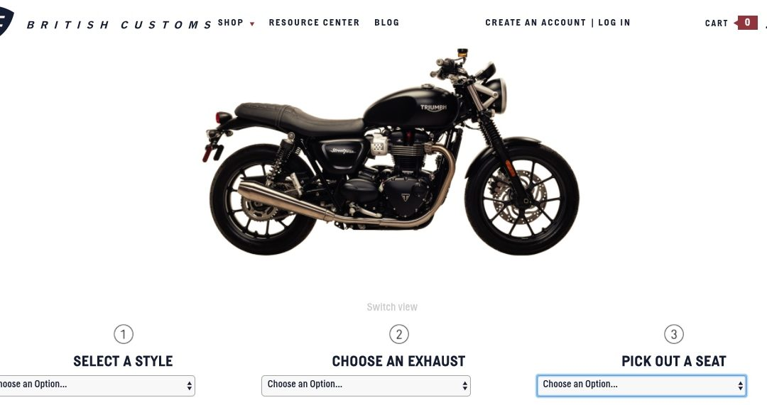 British Customs Street Twin Visualizer
